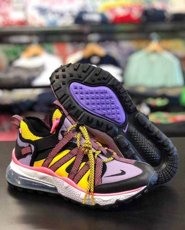 Air Max 270 Bowfin Black Atomic Violet Amarillo