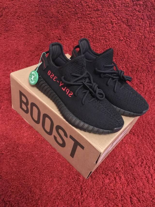 new arrivals 1fba4 d8adb Adidas Yeezy Boost 350 V2 Black Red