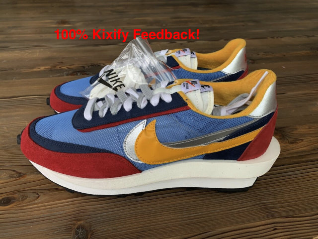 Sacai x Nike LD Waffle Varsity Blue