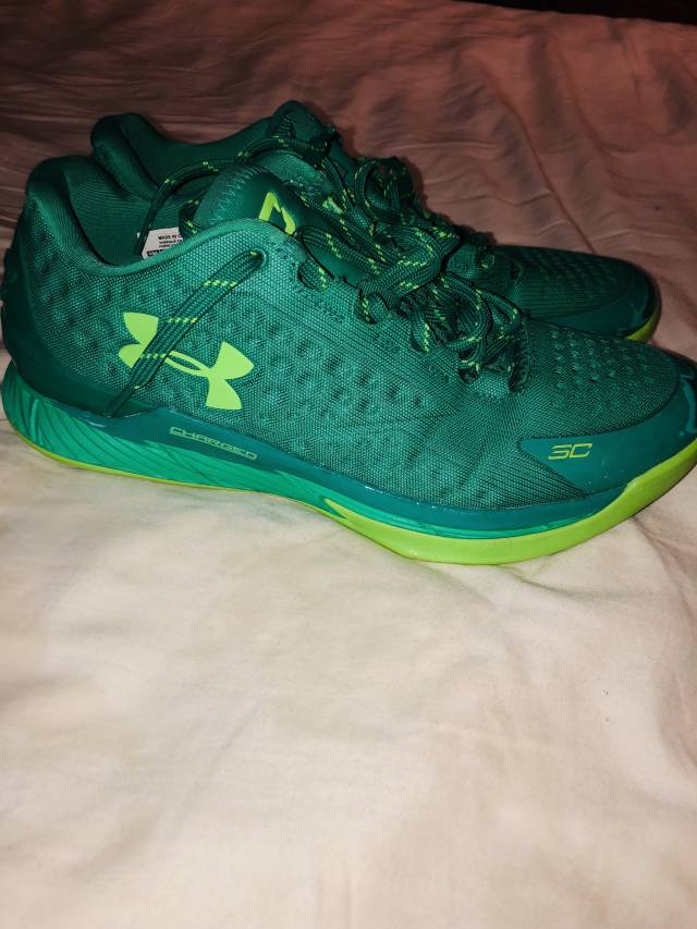reputable site e23dc 77753 Under Armour Curry One Low - Green