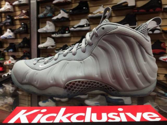 premium selection f9dba 7fbed Nike Air Foamposite One Prm - Wolf Grey