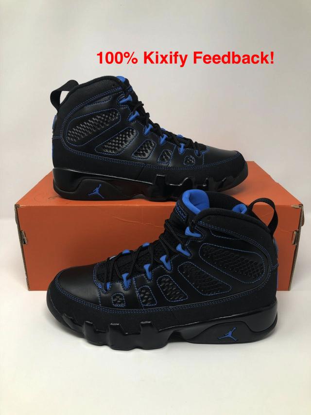 new product a62fc af0b4 Air Jordan 9 Photo Blue