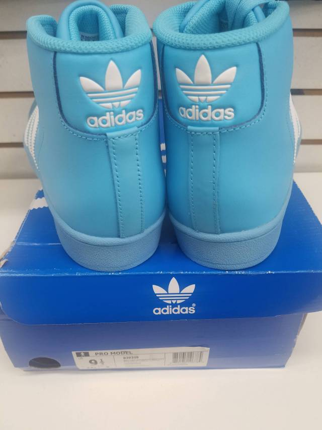 Adidas Pro- Model Sky Blue/White