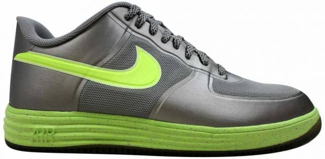 Nike Lunar Force 1 Fuse Granitevolt 555027 002 Men's S