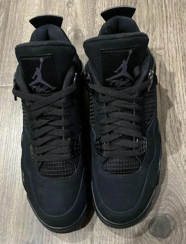 Jordan Brand Air Jordan 4 Retro Black Cat 2020   Grailed