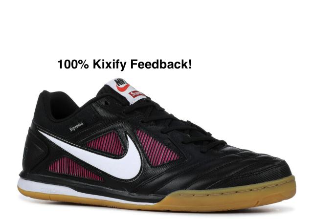 Supreme x Nike SB Gato Black