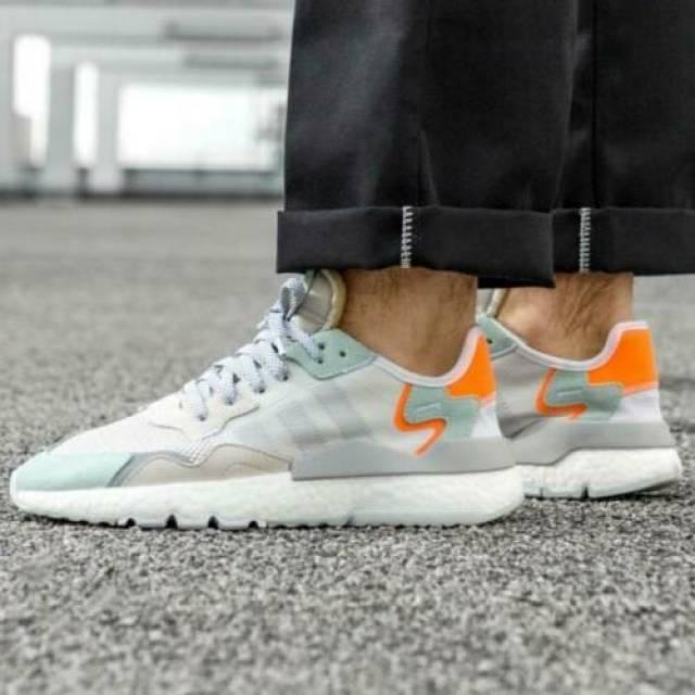 Adidas Nite Jogger Vapourgreen White