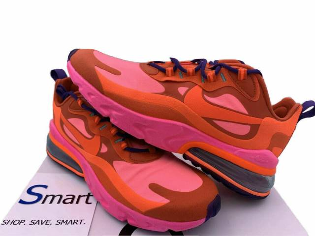 Nib Multi Size Men Women Nike Air Max 270 React Running Training Shoes Pink Red Kixify Marketplace