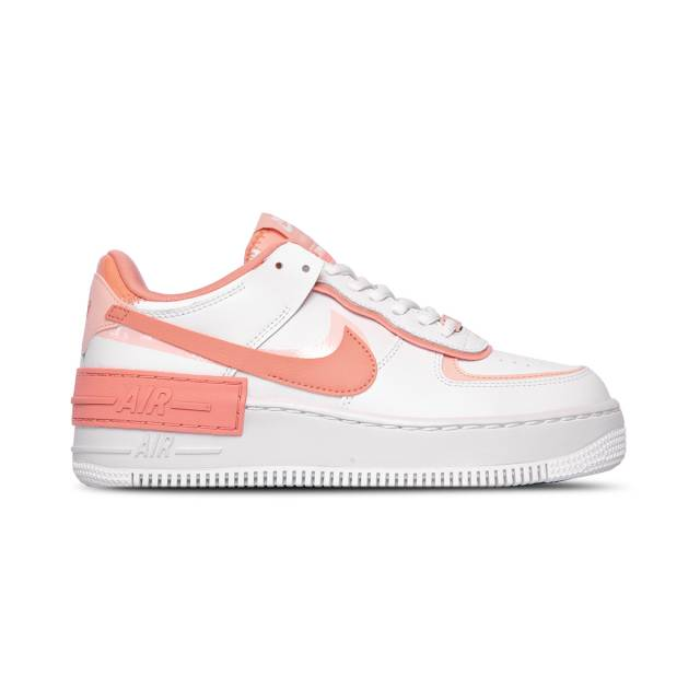 Nike Women S Air Force 1 Shadow Pink Quartz Summit White