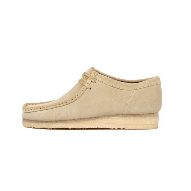 Clarks Wallabee Low (Maple Suede/ Brown