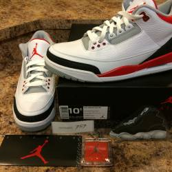 2013 air jordan 3 retro size 1...