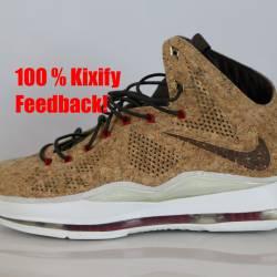 Nike lebron 10 cork free shipping