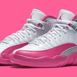 Nike air jordan 12 pink gs val...