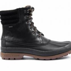 Sperry cold bay boot - black gum