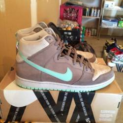 "Nike sb dunk hi ""medium mint"" ..."