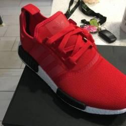 Adidas nmd r1 red sz 10us