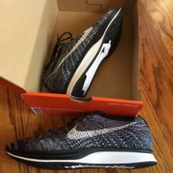 Nike flyknit racer oreo 2, 11.5