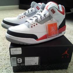 Air jordan 3 fire red 136064 120