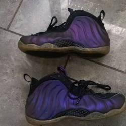 Nike foamposite eggplant- like...