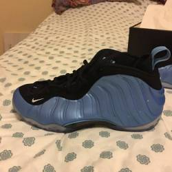 Air foamposite 1 university blue