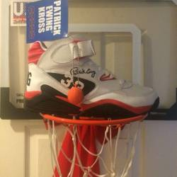 Ewing kross white and red and ...