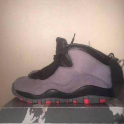 Jordan 10 pre owned infrared s...
