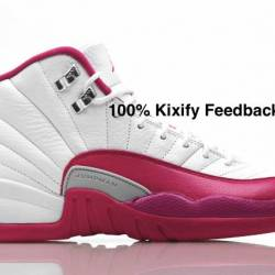 Air jordan 12 pink valentines day