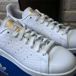 Adidas stan smith white and go...