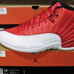 Jordan 12 gym red