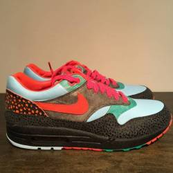 Nike air max 1 supreme safari ...