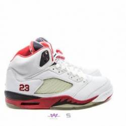 Air jordan 5 retro fire red 20...
