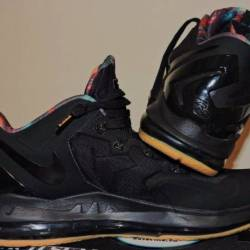 Nike lebron 11 low - black gum