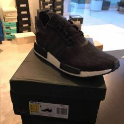 Nmd r1 winter wool core black