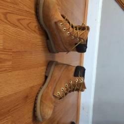 Timberland 6-inch boot dark rust