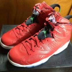 Jordan 6 mvp size 8.5