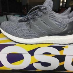 Discount UA Ultra Boost 3.0 Silver Boost Gray Silver Online for Sale