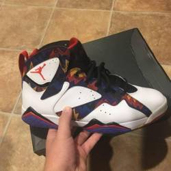 "Retro 7s ""nothing but net"""