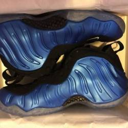 Nike air foamposite  royal