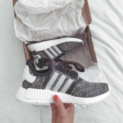 Adidas nmd r1 grey glitch size...