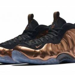 Nike air foamposite one copper...