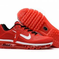 Humanized nike air max red, wh...