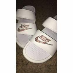 Custom nike slides