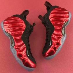 Nike air foamposite one metall...