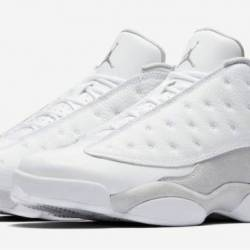 Air jordan 13 low white metall...