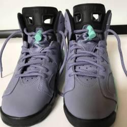 Air jordan 6 iron purple 5.5y