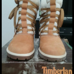 Timblerland womens quilted boo...