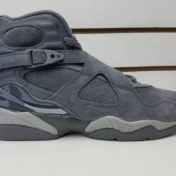 Air jordan retro 8 cool grey w...