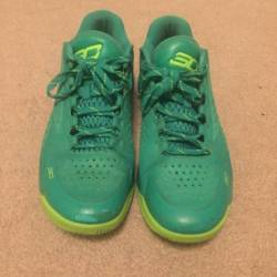 Curry one low green