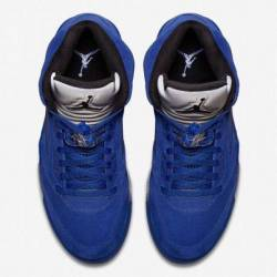 Air jordan 5 retro blue suede ...
