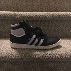Size 11 us adidas top ten hi b...
